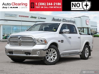 2015 Ram 1500 3.0L Longhorn Eco Diesel 4WD with Navigation & Leather Interior Truck