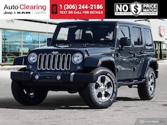 2018 Jeep Wrangler JK Unlimited Sahara 4WD with Remote Start SUV