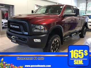 2017 Ram 2500 Power Wagon Crew **Plan or 7/160** Camion cabine Crew