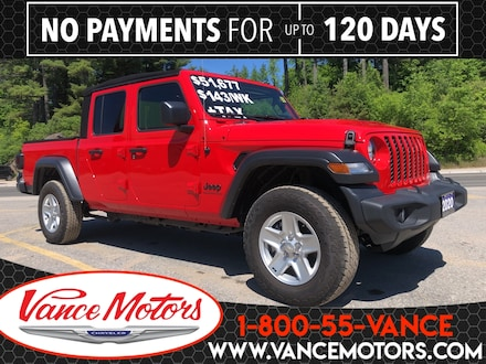 2020 Jeep Gladiator Sport S 4x4...HTD SEATS*BEDLINER*TOW! Truck Crew Cab