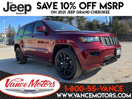 2021 Jeep Grand Cherokee Altitude 4x4...TOW*HTD SEATS*SUNROOF! 4x4