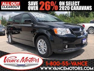 2020 Dodge Grand Caravan Premium Plus...NAV*DVD*HTD SEATS! Van