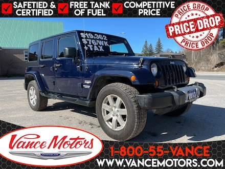 2013 Jeep Wrangler Unlimited Sahara 4x4...HTD SEATS*BLUETOOTH*HARD TOP! SUV