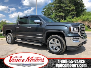 2017 GMC Sierra 1500 SLT 4x4...NAV*LEATHER*SUNROOF! Truck Crew Cab