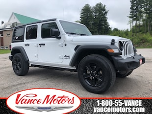 2019 Jeep Wrangler Unlimited Sport S 4x4...HTD SEATS*BACKUP CAM! SUV