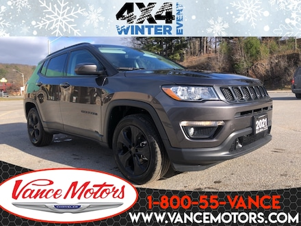 2021 Jeep Compass Altitude 4X4...LEATHER*SUNROOF*HTD SEATS! 4x4 Sport Utility