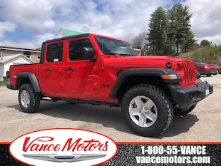 2020 Jeep Gladiator Sport S 4x4...UPGRADED TIRES*BACKUP CAM*TOW! Truck Crew Cab