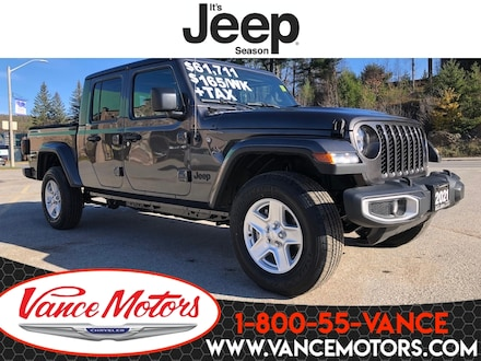 2021 Jeep Gladiator Sport S 4X4...LEATHER*DUAL TOP*HTD SEATS! Truck Crew Cab
