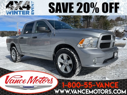 2021 Ram 1500 Classic Express 4X4...V6*TOW*BEDLINER! Camion cabine Crew