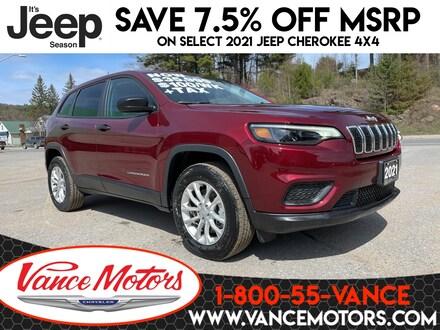2021 Jeep Cherokee Sport 4x4...HTD SEATS*BACKUP CAM*REMOTE START! SUV