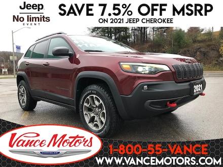 2021 Jeep Cherokee Trailhawk 4X4...HTD SEATS*BACKUP CAM*REMOTE START! SUV