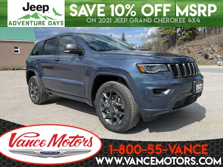 2021 Jeep Grand Cherokee 80th Anniversary Edition 4x4...LEATHER*COOLED SEAT 4x4