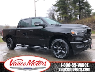 2019 Ram All-New 1500 Big Horn 4x4...NAV*HTD SEATS*SUNROOF! Truck Crew Cab