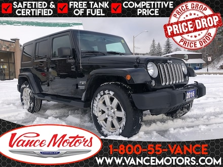 2016 Jeep Wrangler Unlimited Sahara 4x4...HARD TOP*HTD SEATS *LEATHER! SUV