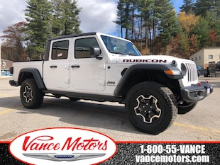 2020 Jeep Gladiator Rubicon 4x4...MANUAL*LEATHER*NAV! Truck Crew Cab
