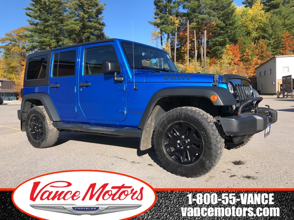 2016 Jeep Wrangler Unlimited Willys 4x4...MANUAL*DUAL TOP*TOW! SUV