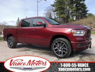 2019 Ram All-New 1500 Sport 4x4...BACKUP CAM*HTD SEATS*REMOTE START! Truck Crew Cab