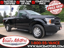 2018 Ford F-150 XL 4x4...BACKUP CAM*BEDLINER*TOW! Truck Regular Cab