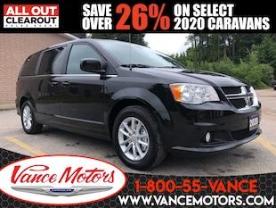 2020 Dodge Grand Caravan Premium Plus...NAV*HTD SEATS*DVD! Van