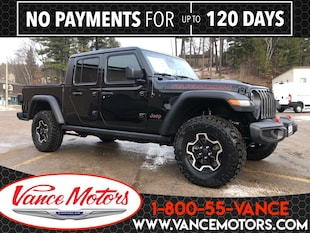 2020 Jeep Gladiator Rubicon 4x4...LEATHER*HTD SEATS*FORWARD TRAILCAM! Truck Crew Cab