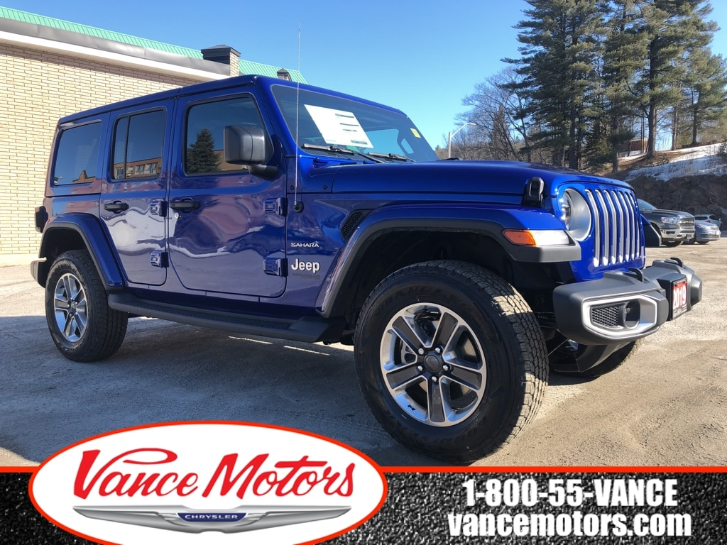 2019 Jeep Wrangler Unlimited Sahara 4x4...NAV*LEATHER! SUV