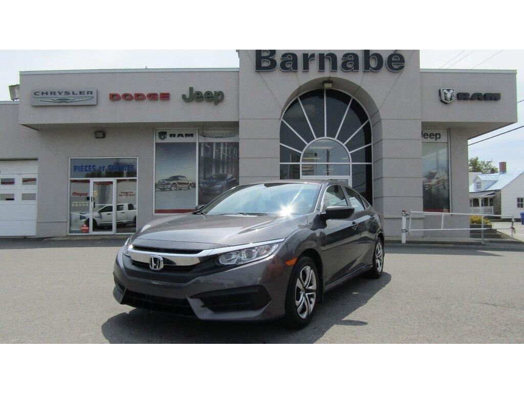2017 Honda Civic Sedan Bluetooth + camera de recul + régulateur SEDAN Berline