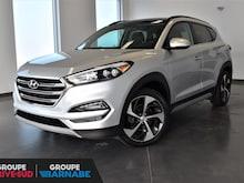 2017 Hyundai Tucson LIMITED + CUIR + TOIT PANO + SIEGES ET VOLANT CHAU VUS