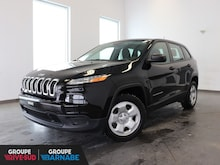 2018 Jeep Cherokee SPORT + ENS. TEMPS FROID  VUS