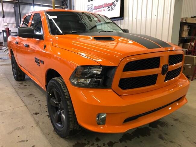 2019 Ram 1500 Classic Express Ignition Orange Truck Crew Cab