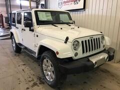 2018 Jeep Wrangler JK Unlimited Sahara SUV 4x4