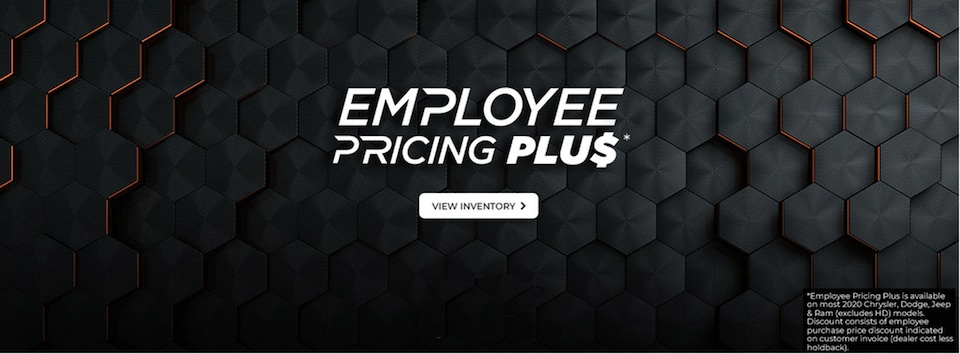 Employee Pricing Plus