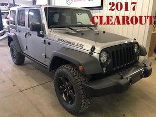 2017 Jeep Wrangler JK Unlimited Big Bear SUV