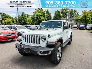 2018 Jeep All-New Wrangler Unlimited Sahara 4X4, Leather, Remote Start, GPS SUV