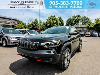 2019 Jeep New Cherokee Trailhawk L Plus 4X4, GPS NAV, Sunroof, Backup CAM SUV