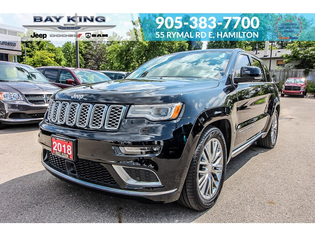 2018 Jeep Grand Cherokee NAV, ECO Diesel, Heated Seats, Back UP CAM SUV