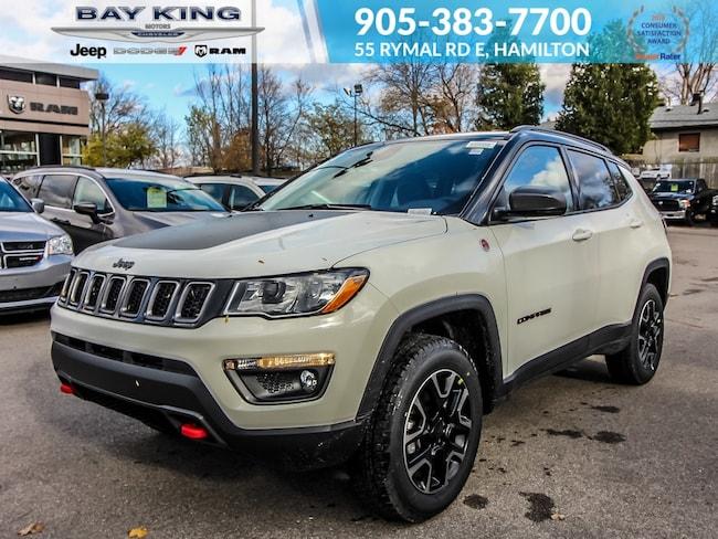 2019 Jeep Compass Trailhawk 4X4, GPS, Back UP CAM, Bluetooth SUV