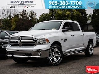 2019 Ram 1500 Classic SLT, Bluetooth, Side Steps, NAV, 20 Wheels Truck Crew Cab