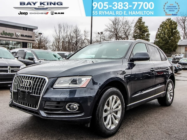 2016 Audi Q5 Leather, Heated Seats, Sunroof, Push Start, Turbo SUV