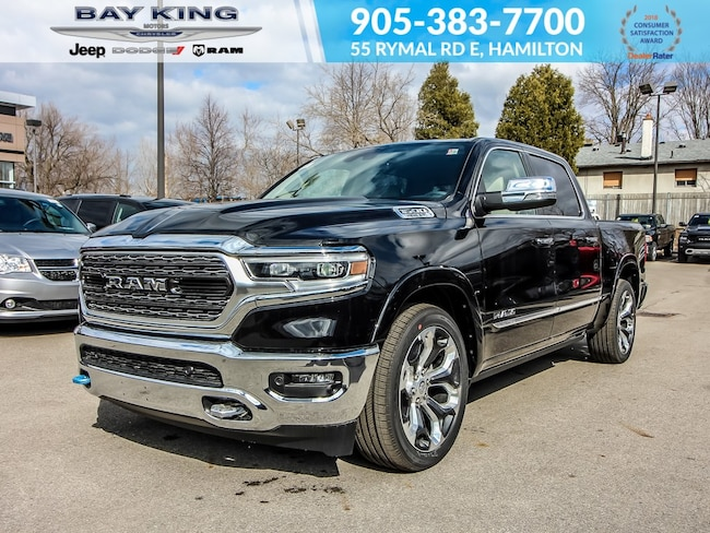 2019 Ram All-New 1500 4x4, Side Steps, V8, 12 Touchscreen, TOW, V8 Truck Crew Cab