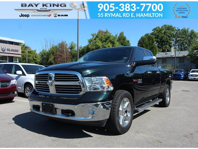 2016 Ram 1500 4X4, ECO Diesel, Back UP CAM, NAV, Heated Seats Truck Quad Cab