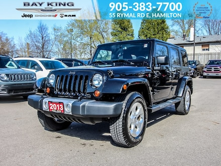2013 Jeep Wrangler Unlimited 4WD 4dr Sahara, Alpine Sound, Keyless Entry SUV