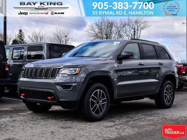 2019 Jeep Grand Cherokee 4X4, Backup CAM, Blind Spot Monitor, NAV, Hotspot SUV