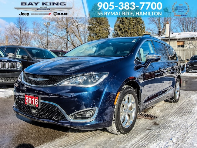 2018 Chrysler Pacifica 360 View CAM, Park Assist, Heated Seats, Bluetooth