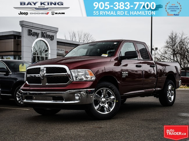 2019 Ram 1500 Classic SXT Plus Quad CAB 4X4, Trailer TOW, Back UP CAM, B Truck Quad Cab