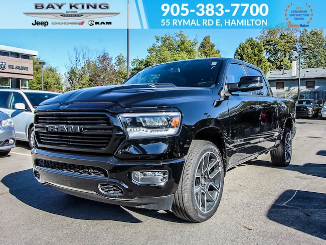 2019 Ram All-New 1500 Sport Crew CAB 4X4, NAV, Back UP CAM, 20 Wheels Truck Crew Cab