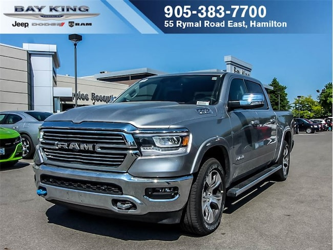 2019 Ram All-New 1500 Laramie 4X4, NAV, Sunroof, Backup CAM, Side Steps Truck Crew Cab