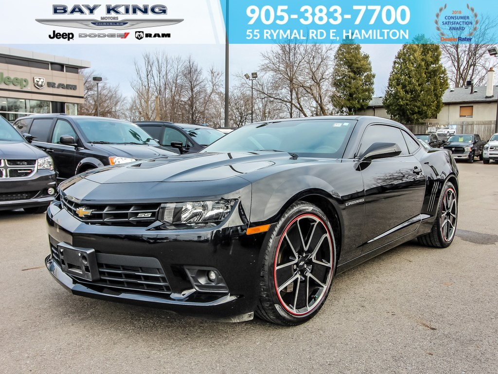 2015 Chevrolet Camaro V8, Manual, Back UP CAM, Bluetooth, Leather Coupe