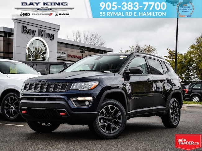 2019 Jeep Compass Trailhawk 4X4, GPS, Back UP CAM, Heated Seats SUV