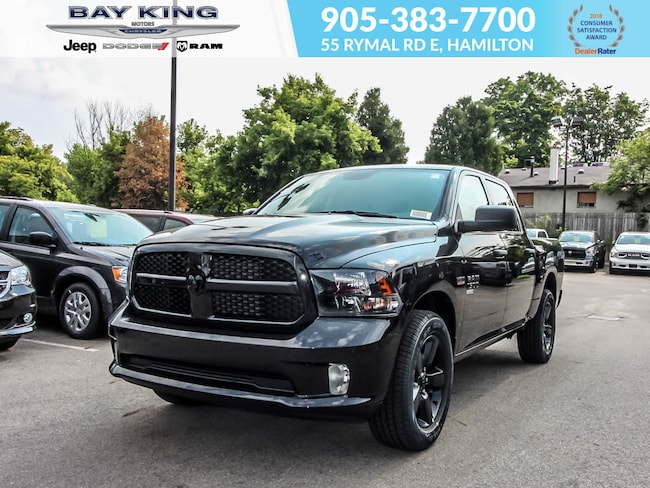 2019 Ram 1500 Classic Classic Express, Blackout, Crew 4X4, Backup CAM Truck Crew Cab