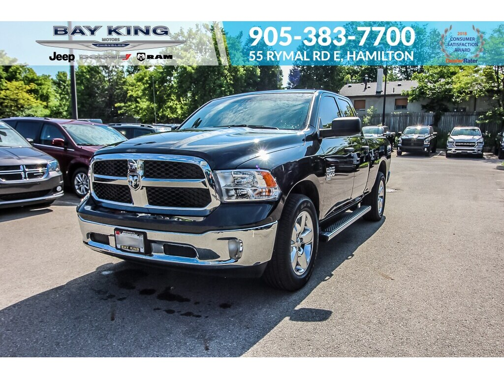 2019 Ram 1500 Classic FOG Lamps, Bluetooth, Back UP CAM, Keyless Entry Truck Quad Cab